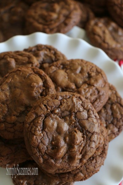 Triple Chocolate Cookies {Simply Suzanne's At Home}