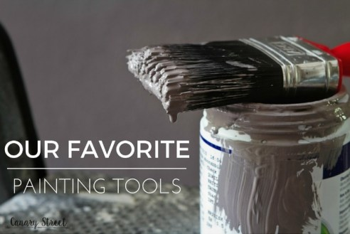 Our favorite products and tools for painting furniture. http://canarystreetcrafts.com/