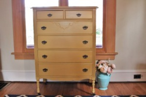 Somerset Gold Highboy from The Little Red Craftsman