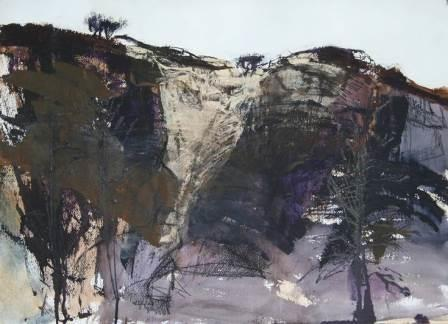 KMcInnis_Escarpment, Flinders Sketch