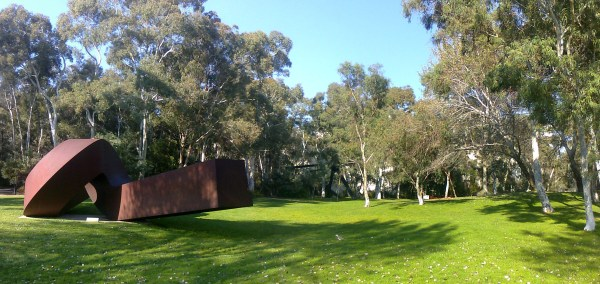 National Sculpture Garden Canberra Bike Tours