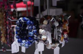 beads blue