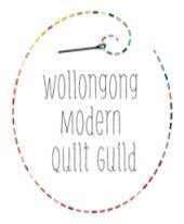 Wollongong modern quilt guild logo