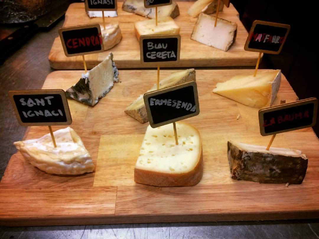 Fusta de formatges