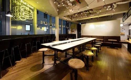 J.S. PANCAKE CAFE 渋谷店、店内