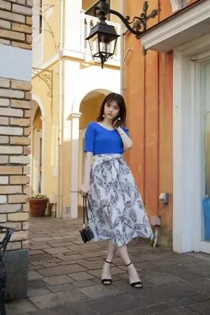 夏こそキレイめ!美人なスカートコーデを堪能♡