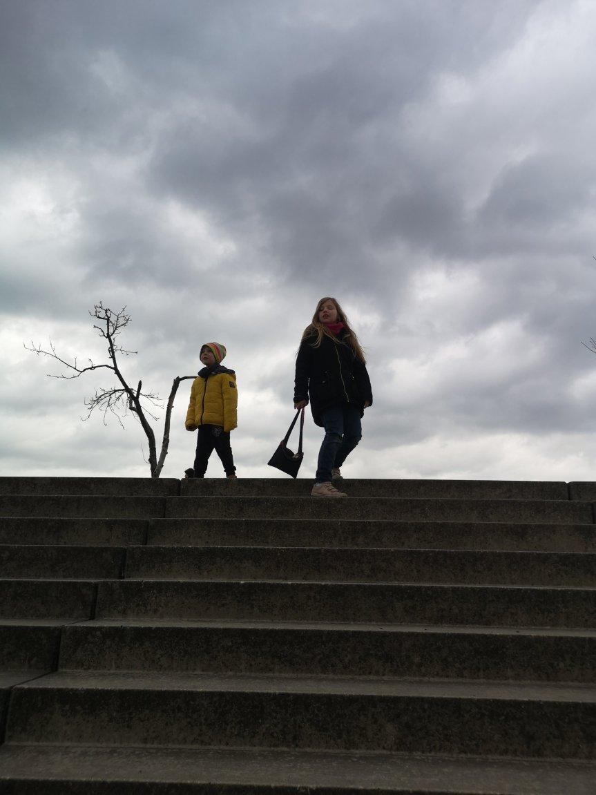 Von Ausgang, Elsa und Hagel; unser Wochenende