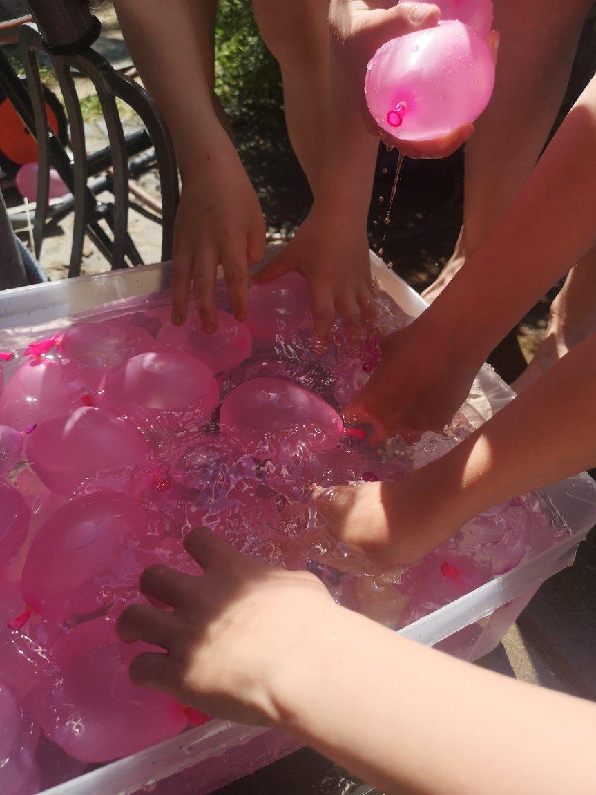 Von vielen Luftballons, einem Kinderfest und Besuch; unser langes Wochenende