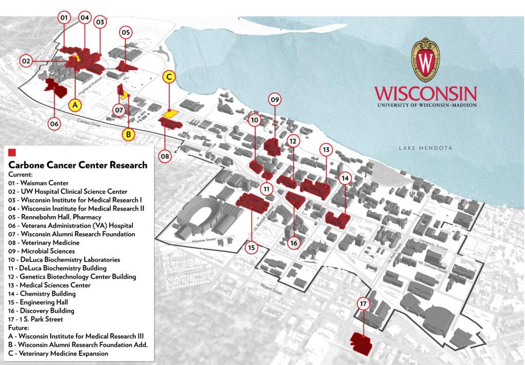 Uw Health Hospital Campus Map