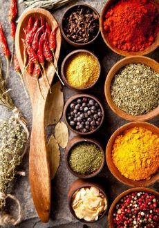 herbs, roots and spices have healing properties