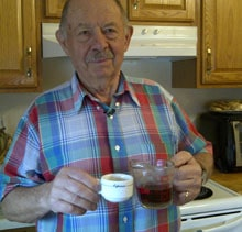 john dicarlo heals leukemia with dandelion tea