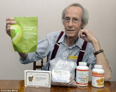 Allan Taylor heals stage 4 colon cancer with diet and supplements