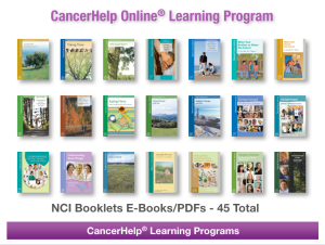 NCI's E-Book Library in CancerHelp Online helps your patients and gives staff a powerful tool for patient edcuation