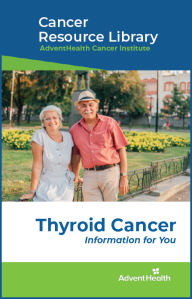 Thyroid cancer booklet cover