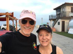 CJF founder Robert Hess and board member Melissa Lanfre