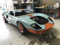 Cancer Journeys Foundation GT40 Replica Car