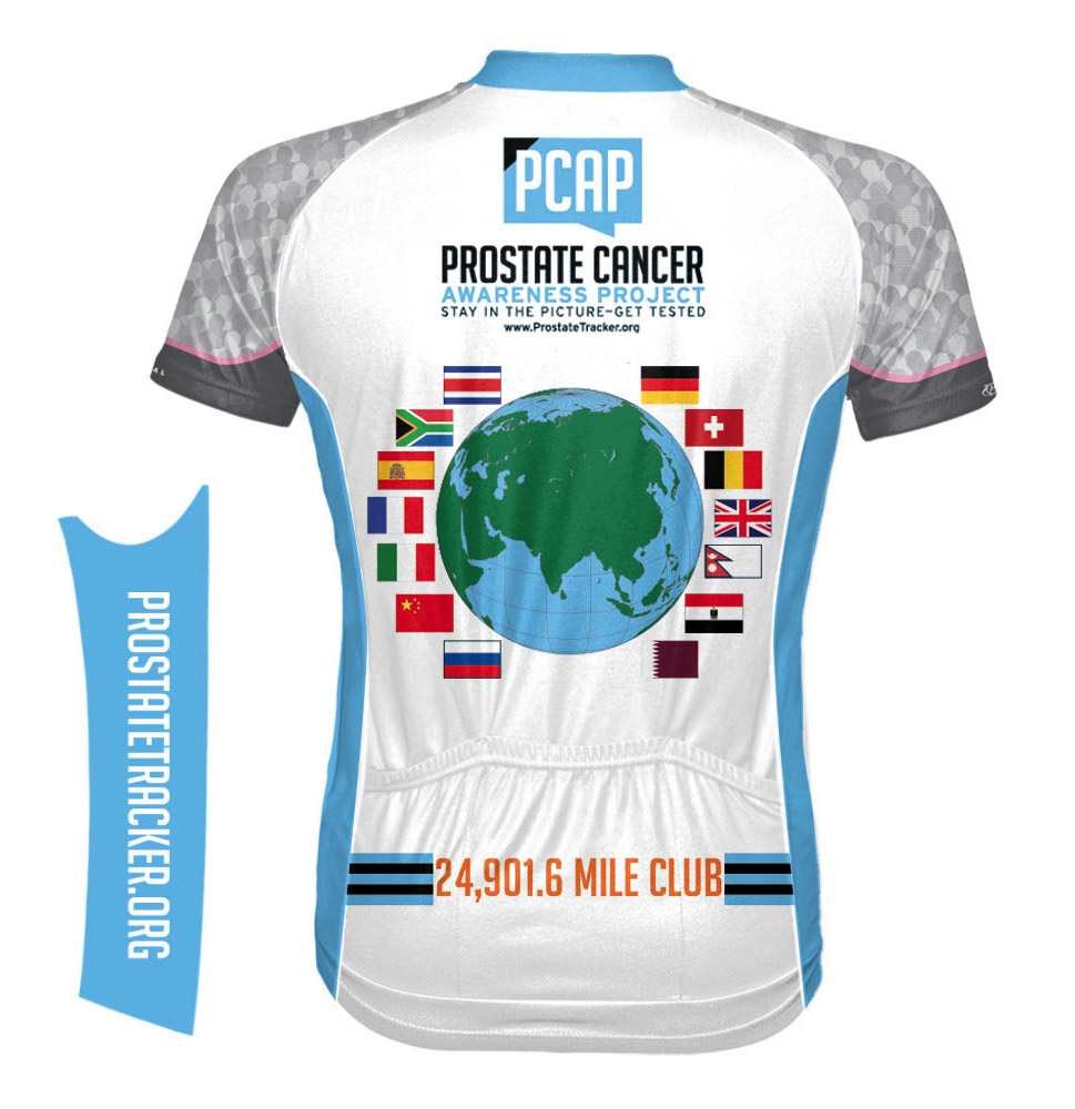 1d6a0fa03 Around the World Cycling Jersey - Cancer Journeys Foundation