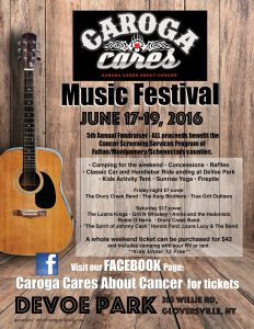 Caroga Cares About Cancer 2016
