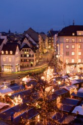 Basel's Christmas market on Barfüsserplatz, copyright Basel Tourismus