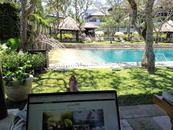 Updating the blog from bali because I'm so excited about this latest keto for cancer news