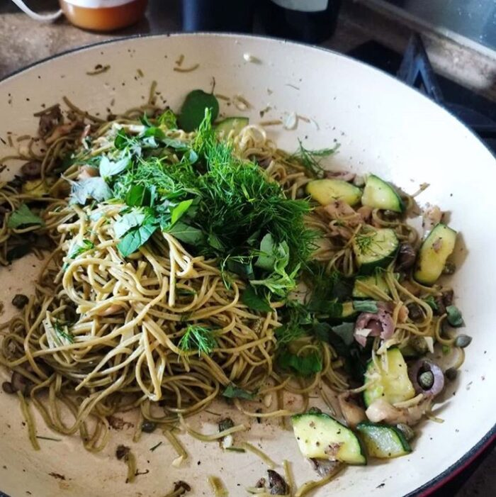 Mung bean and edamame noodles are a great low carb alternative