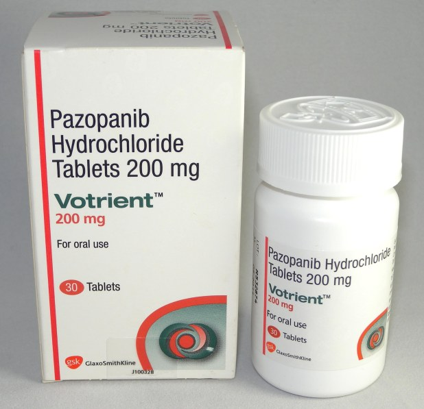 Pazopanib (Votrient) Side Effects, Cost for Sarcoma Treatment