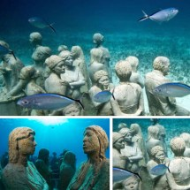 Cancun Underwater Museum Certified Divers
