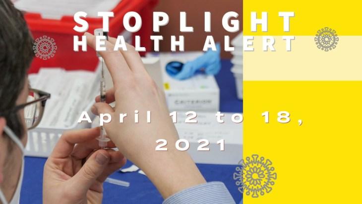 Stoplight-health-alert
