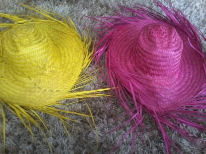 Sombreros para Fiesta de colores