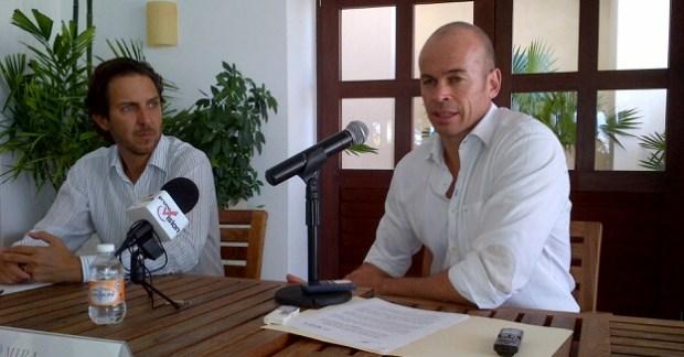 Javier Barrios, Rafael Lang, Puerto Cancún