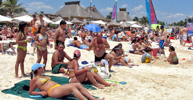 Turistas Riviera Maya