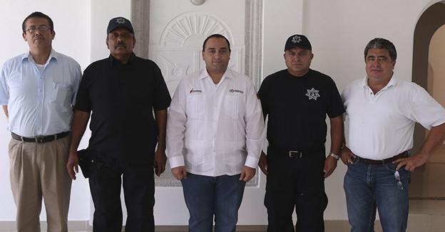 Nuevo Subsecretario de Seguridad Pública de la Zona Norte del Estado.