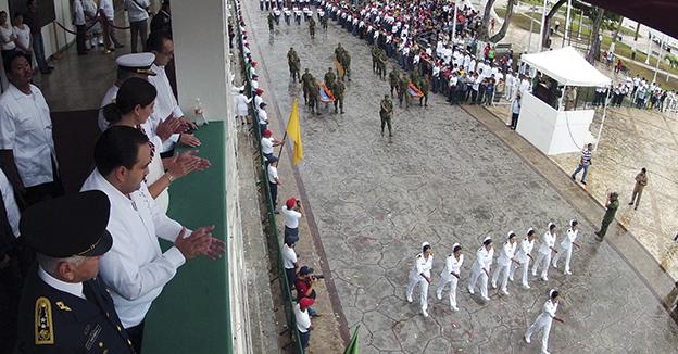 Borge desfile