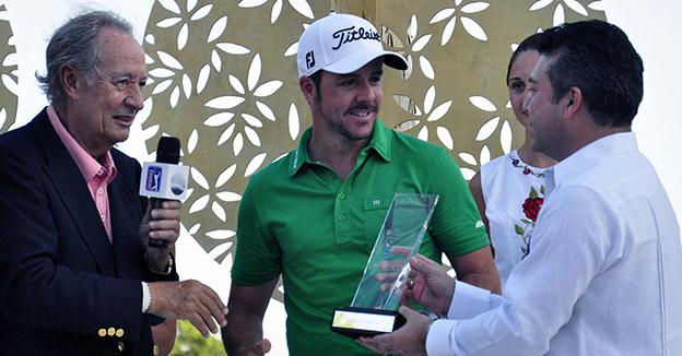 Mauricio Góngora golf