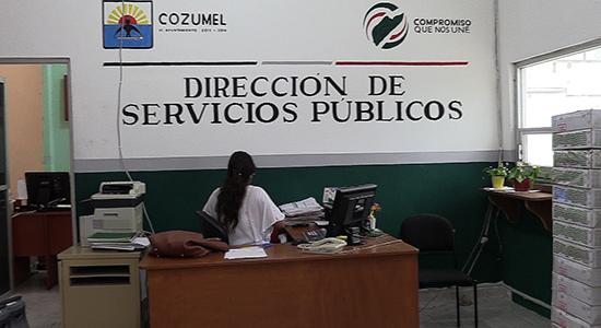 cozumel servicios publicos