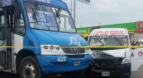 Un accidente Cancún