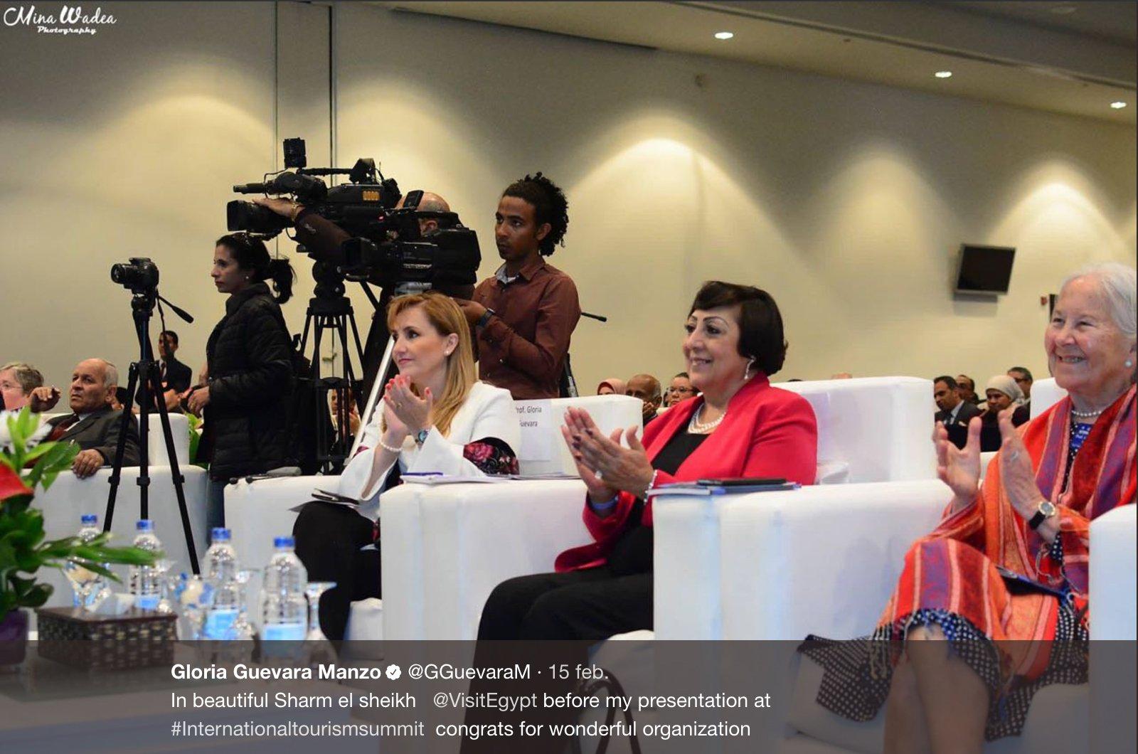 Gloria Guevara, nueva directora general del WTTC