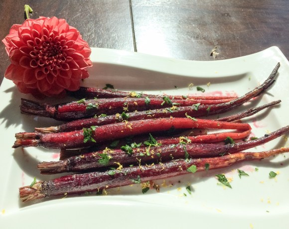paleo purple carrots