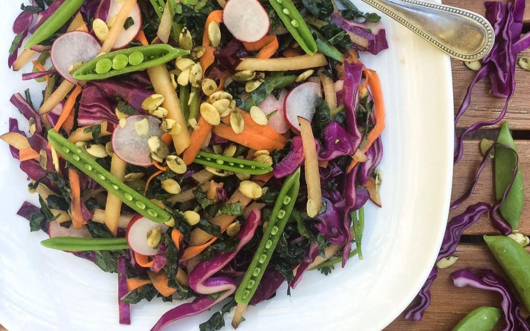 summer vegetable slaw