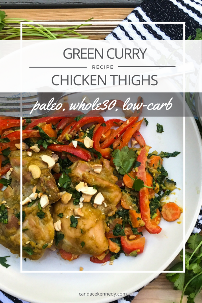 Recipe: Green Curry Chicken | Paleo, Whole30, Low-Carb