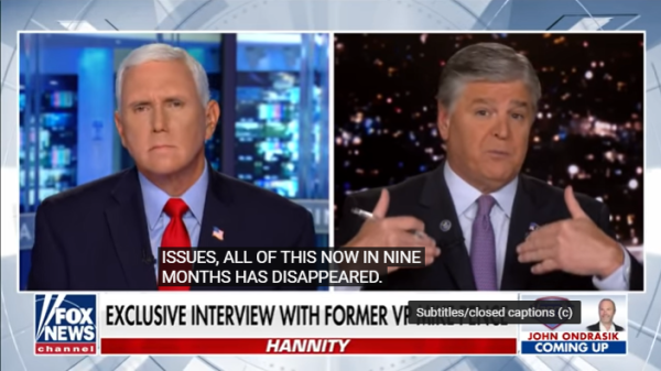 Watch Mike Pence President Trump And I Parted Amicably