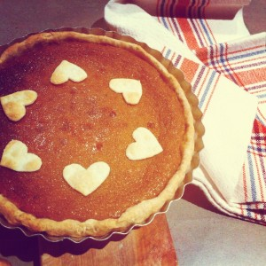 Honey-Ginger Pumpkin Pie