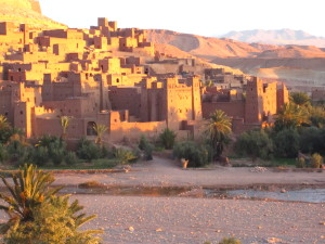 Solo in Morocco - Ait Ben Haddou