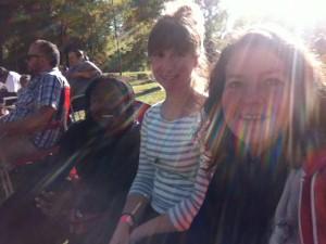 Lucky 2013: Kemi, Caroline and I