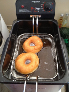 Frying Donuts