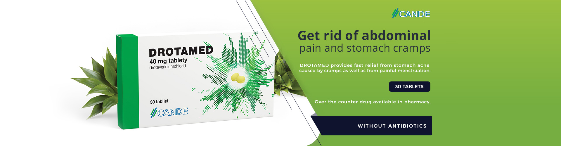 DROTAMED Get rid of abdominal pain and stomach cramps