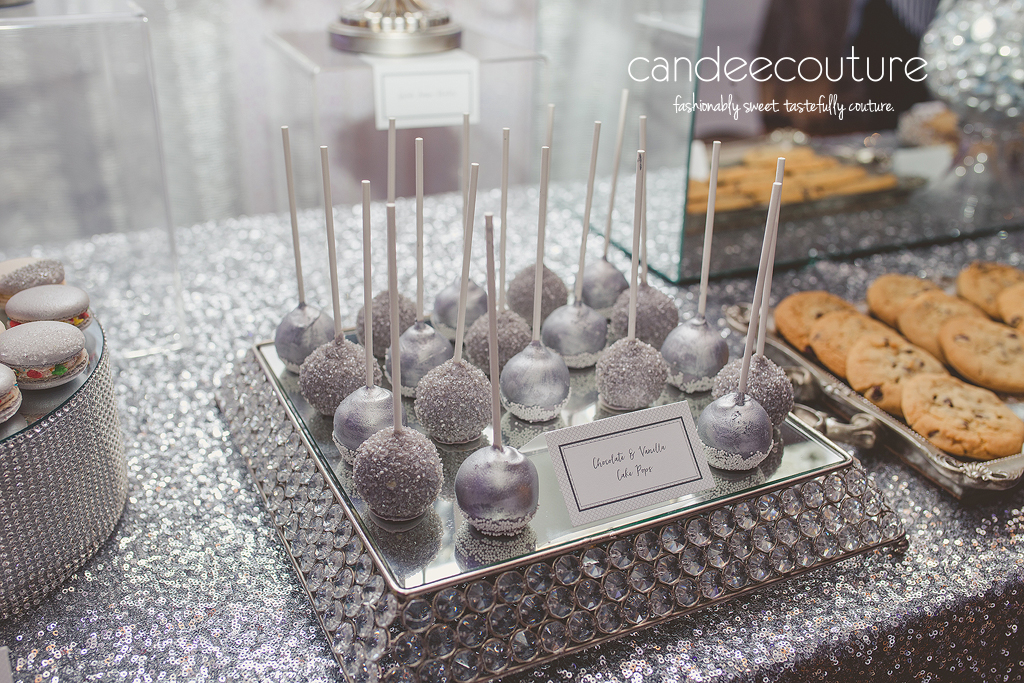Simple And Classy Dessert Table For Sonali Amp Darshans Wedding