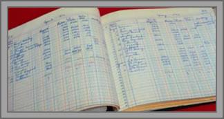 account ledger book