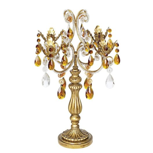 Gold 19 and half inch High Candelabra