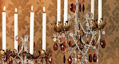 French Taper 29 High Droplets Candelabra